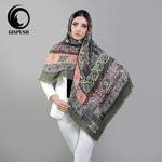 روسری سبز سنتی گیس پوش