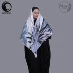 Picture of lantern linen scarf