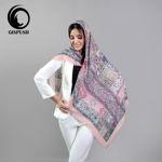 روسری های نخی طرح سنتی صورتی گیسپوش