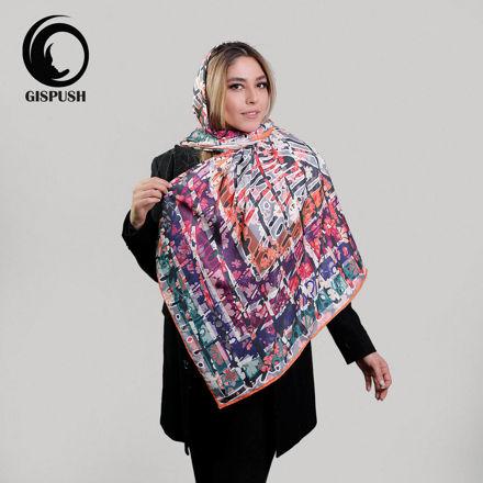 روسری ابریشم سونیا رنگی 1 گیسپوش