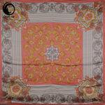 روسری ابریشم منگوله دار نلرنجی گیسپوش