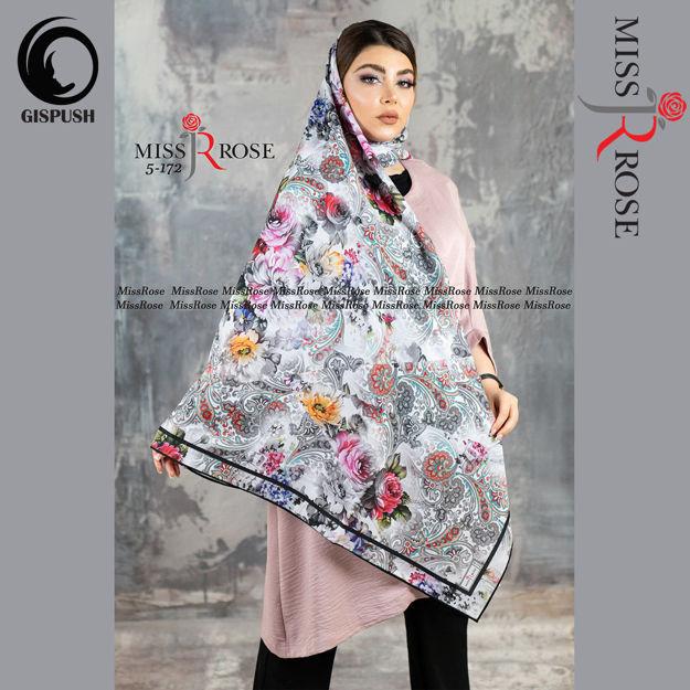 روسری ابریشم مامی رنگی گلدارسیمارو برند میسرز در گیسپوش