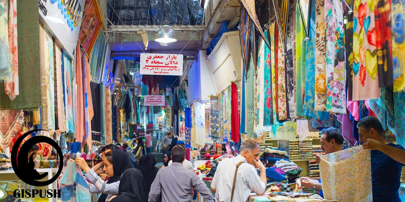 هنوز هم برای خرید شال و روسری به بازار جعفری تهران میروید؟!