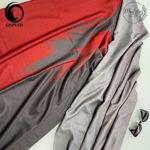شال قرمز زغالی موهر طرح برگ گیسپوش